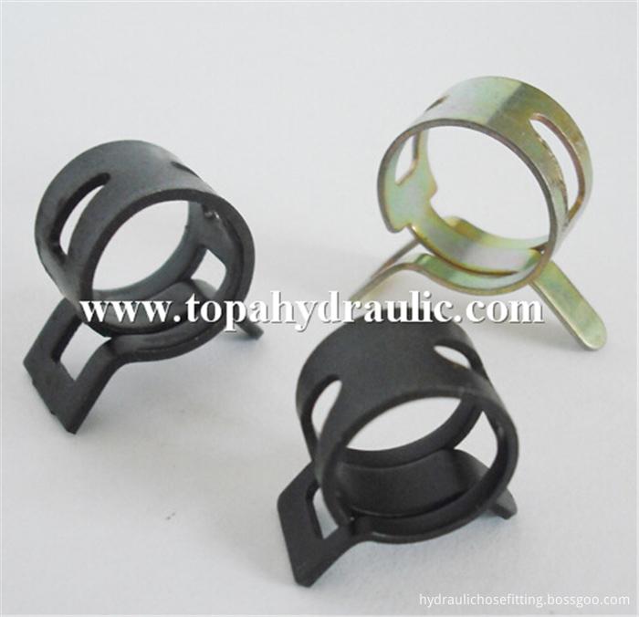 Black Hose Clamps