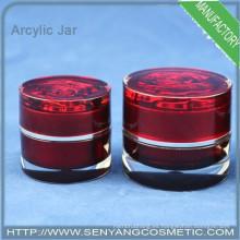 Frasco de crema de lujo frasco de envasado cosmético frasco de crema jar mockup