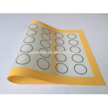 Food grade durable silicone fiber glass bakingmat OEM Non stick Silicon Baking Mat