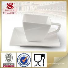 plain white stoneware coffee cup , square coffee mugs