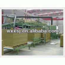 Rock Wool insulation sandwich Panel production line