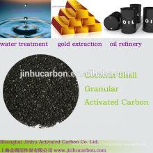 Shell charbon actif utilisé dans l'extraction de prix des métaux précieux