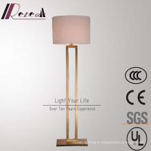 Lampe de plancher debout en laiton antique de Decoratove d'hôtel moderne