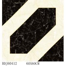 Nuevo azulejo cristalino de la alfombra del diseño con 1600X1600m m (BDJ60412)