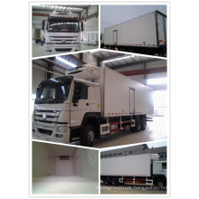 HOWO 6X4 Cooling Van Truck Refrigerated Cargo Truck for Sale