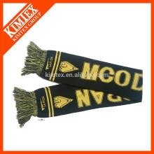 Vente en gros d'écharpes en mousseline tricotées en acrylique en gros