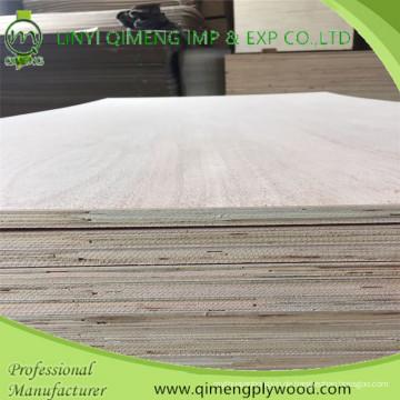 Einmalige heiße Presse 15mm recyceltes Sperrholz mit niedrigem Preis