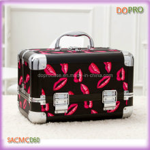 Popular Red Lips Patterns Cheap Makeup Bags and Cases (SACMC060)