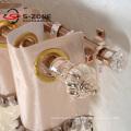 Vente en gros vente chaude d'anneau à oeillets en plastique à rideau en plastique