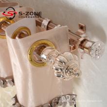 Оптовые горячие продажи узором пластиковые занавес кольца кольцо