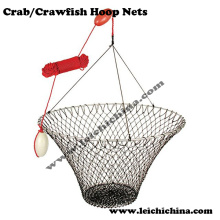 Redes de caranguejo e lagostins