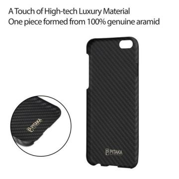Slim Fit iPhone6S PITAKA Magcase fibre d'aramide 4.7 pouces
