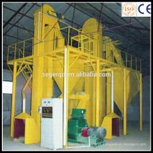 Fábrica Diretamente 500-800 kg / h Completa Linha De Produção De Madeira Ou Pelotas De Alimentação
