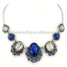 Gema de lujo que deseará el collar corto de la vendimia del temperamento