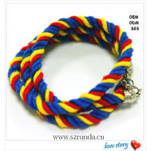 2013 New Product Cotton Handmade Friendship Knot Rope Bracelets Bracelet Knots Rope Bracelet Manufactures&Suppliers&Factory