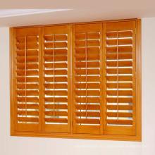 ПВХ или липы окна затвора жалюзи с 63 и 89 мм жалюзи
