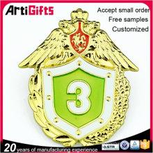 En gros bon marché métal charité en métal badges badges