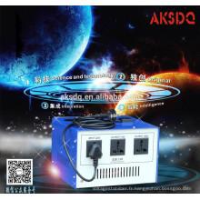 TS-1000W cellphone Convertir alimentation Transformateur
