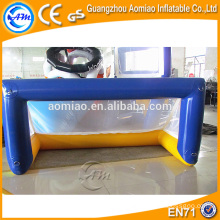 Soccer goal, water polo goal, inflatable water polo goal