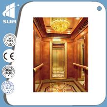Speed 0.4m / S Luxury Decoration Home Elevator