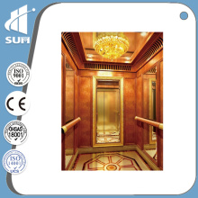 Speed 0.4m/S Luxury Decoration Home Elevator