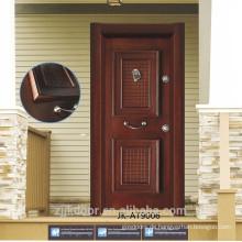 JK-AT9006 Türkei-Art-vordere Tür-Entwürfe / Standard-Tür-Größe