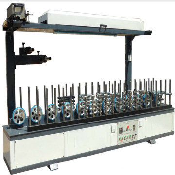 wood plastic door making machine line