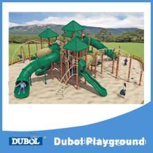 New Design Plastic Slide Conbination Climbing Outdoor Playground