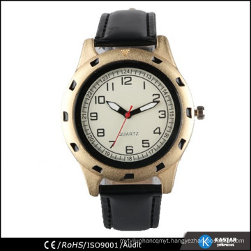 custom men luxury watches gold from China