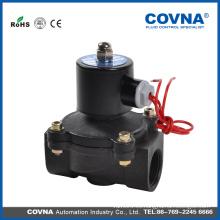 Válvula de agua eléctrica 24v válvula de solenoide de plástico