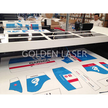 Sublimated Fabrics Laser Cutter with Auto Feeder