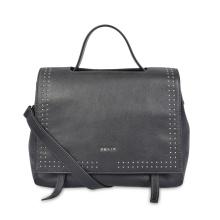 Модная кожаная женская сумка с ручкой