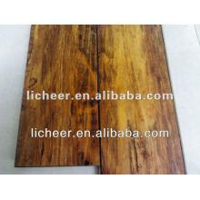Piso laminado exclusivo / piso laminado pintura / preço barato de piso laminado