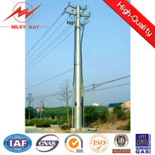 69kv ASTM A123 Safety Factor 1.2 Octogonal Electric Power Pole