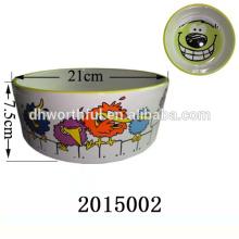 Hot sale ceramic pet bowl