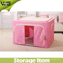 Caja plegable del organizador de la ropa interior de la caja de almacenamiento de los niños de la tela