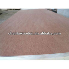 two time hot pressed 9mm 10mm 18mm bintangor plywood for Philippines