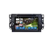 Android 7.1Qcta-core DVD de navigation de voiture avec usb, sd, slot dvd pour chevrolet epica / captiva / Lova