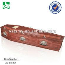 Cercueil conventionnel européen du fournisseur chinois-vente directe