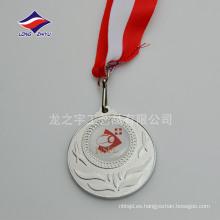 Medallas en blanco