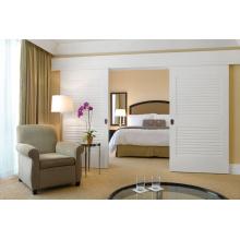 China-Lieferant-prägnante frische Schlafzimmer-Garderoben-Schiebetür