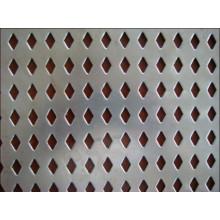 Fábrica de chapas perfuradas chinesas oferece painel de fachada de tela de parede perfurada
