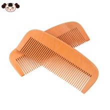 Peine de madera vendedor caliente de la barba del pelo de la pera del logotipo OEM vendedor