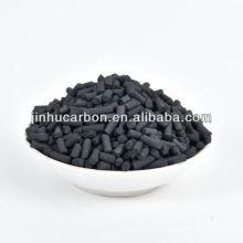 Pelotita de carbón activado de gran superficie