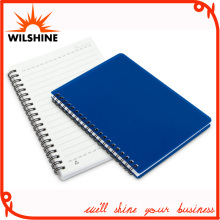 New Arrived Wholesale Cheap PP Plastic Cover Spiral Notebook (PPN226)