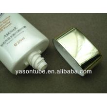 Tube cosmétiques en plastique tube cosmétique en aluminium