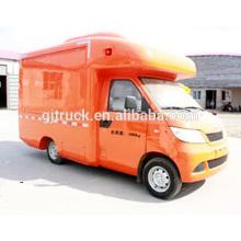 Nuevo diseño changan utilitario móvil personalizado vending remolque / camión