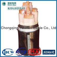 Хорошее качество Кабель силовой изоляции PVC / XLPE, кабель питания hv / mv / lv pvc / xlpe / copper / aluminium