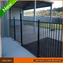 Black Steel Pool Fence / Swimming Pool Fence