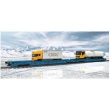 Wagon plat de fret ferroviaire Qt pockEt